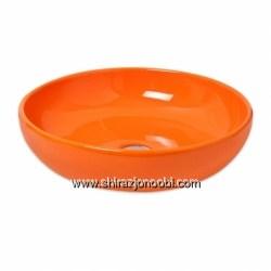 کاسه روشویی نارنجی