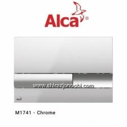 کلید فلاش تانک آلکا پلاس کروم براق- ALCA
