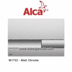 کلید فلاش تانک آلکا پلاس کروم مات-ALCA