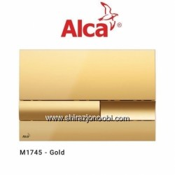 کلید فلاش تانک آلکا پلاس طلایی- ALCA